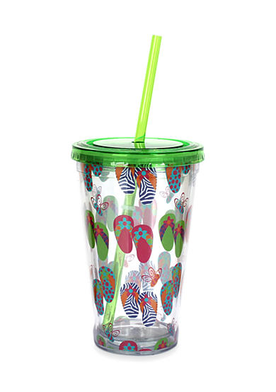 Clay Art Flip Flop 16-oz. Tumbler
