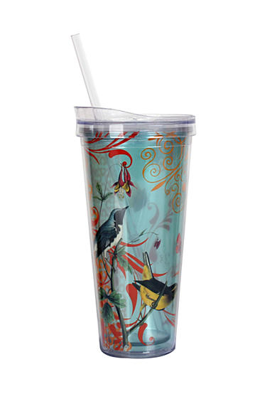 Clay Art Birds Hot/Cold 22 oz Tumbler