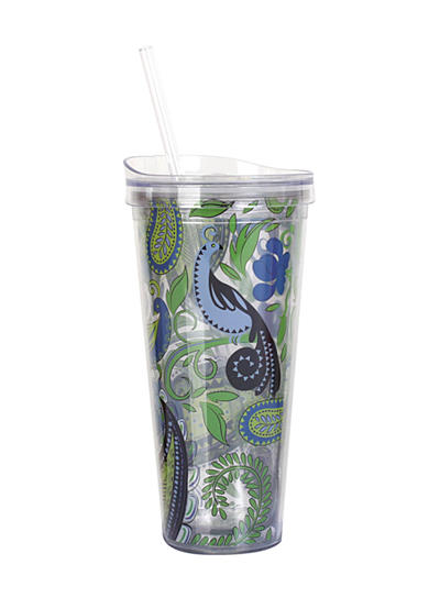 Clay Art Paisley Hot/Cold 22 oz Tumbler