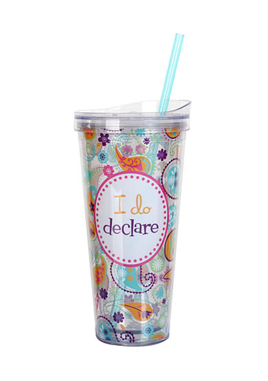 Clay Art I Do Declare Hot/Cold 22 oz Tumbler