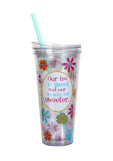 Clay Art Our Tea is Sweet Hot/Cold 22-oz. Tumbler