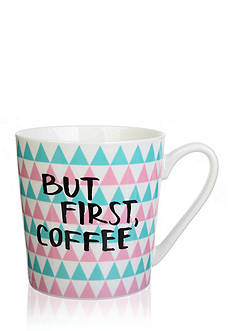 Home Accents® But First, Coffee Mug