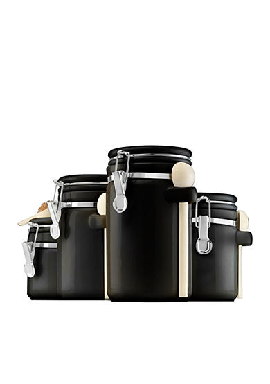 Anchor Hocking Glass 4-Piece Canister Set