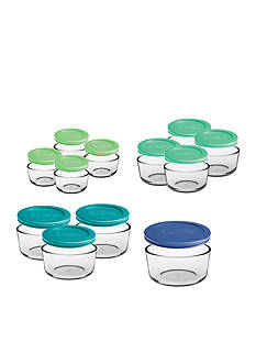 Anchor Hocking Glass 24-Piece Storage Set