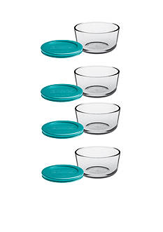 Anchor Hocking Glass 8-Piece Storage Set