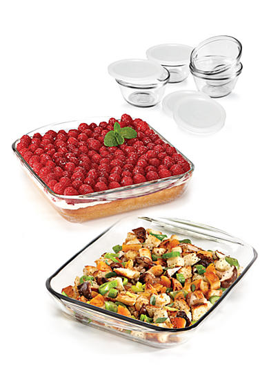 Anchor Hocking Glass 10-Piece Bakeware Value Set - Online Only