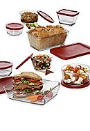 Anchor Hocking Glass 16-Piece Glass Bakeware