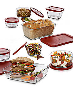 Anchor Hocking Glass 16-Piece Glass Bakeware Kitchen Storage Set