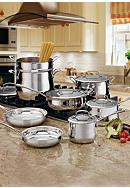 Cuisinart Contour Stainless Steel 13-Piece