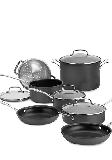 Cuisinart Chef's Classic Hard Anodized Nonstick 11-Piece Cookware Set