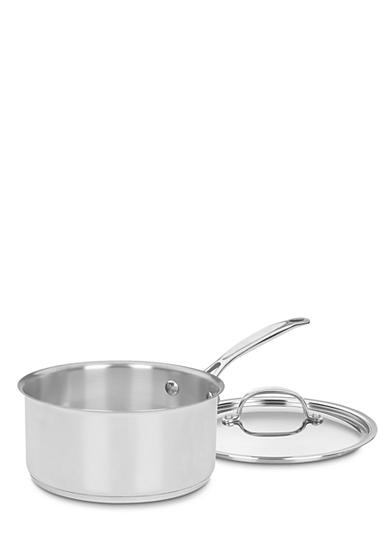 Cuisinart Chef's Classic Stainless Steel 3-qt. Saucepan and Cover - Online Only