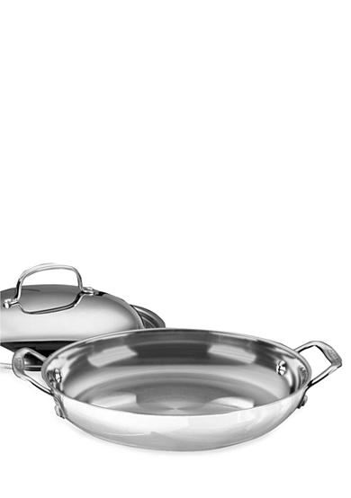 Cuisinart Chef's Classic Stainless Steel Everyday 12-in. Pan with Cover