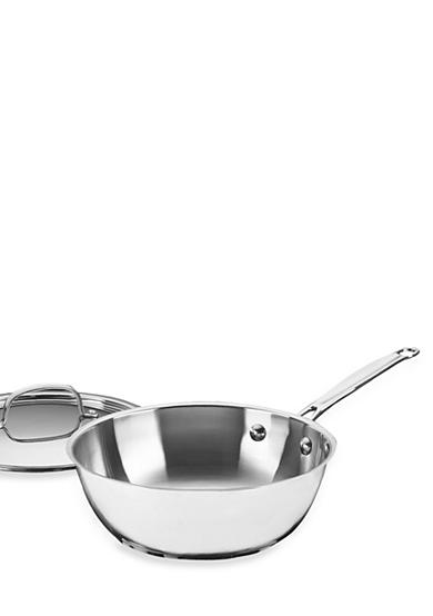Cuisinart Chef's Classic Stainless Steel 3-qt. Chef's Pan - Online Only 73524