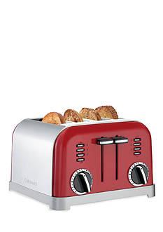 Cuisinart 4 Slice Classic Metal Toaster CPT180MR -Metalic Red