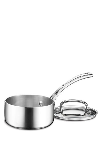 Cuisinart French Classic Tri-Ply Stainless 1-qt. Saucepan with Cover - Online Only