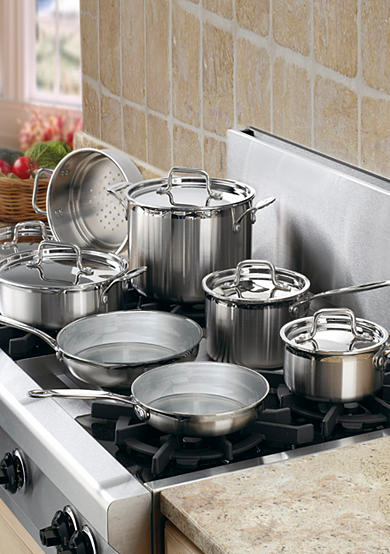 Cuisinart MultiClad Pro Stainless Steel 12-Piece Cookware Set - Online Only MCP12