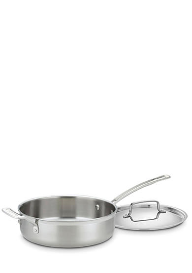 Cuisinart 3.5-Qt. MultiClad Pro Stainless Saute with Helper and Cover - Online Only