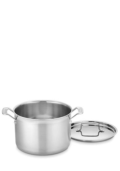 Cuisinart 8-qt. MultiClad Pro Stainless Saucepot with Cover - Online Only