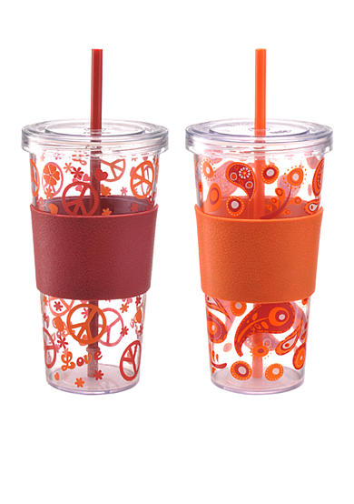 DFL Single Wall 2-pack 24-oz. Iced Beverage Cups