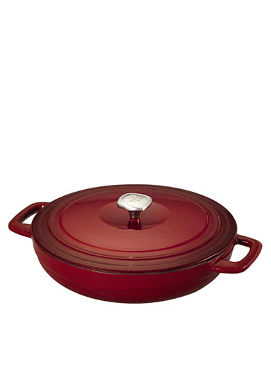 Guy Fieri Porcelain Cast Iron 3.5-qt. Braiser Pan <br>