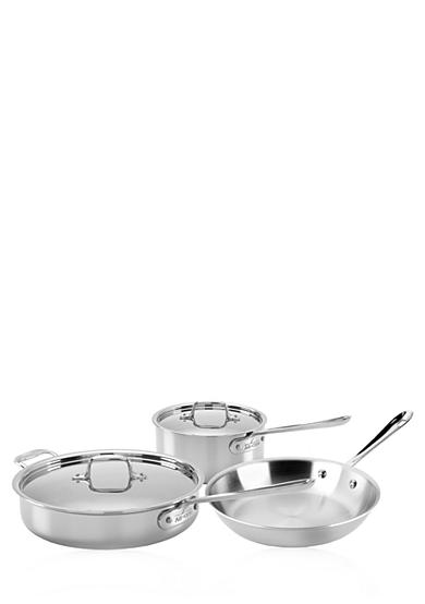 All-Clad Stainless Steel 5-Piece Cookware Starter Set