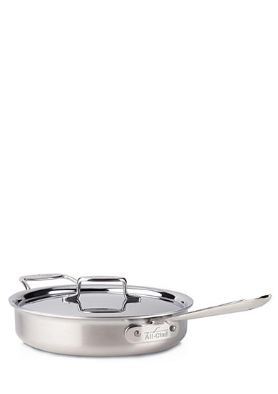 All-Clad Brushed d5 3-qt. Saute Pan with Lid