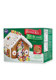 Wilton Bakeware Pre-Baked, Assembled Gingerbread House Kit