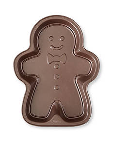 Wilton Bakeware Nonstick Gingerbread Boy Cake Pan