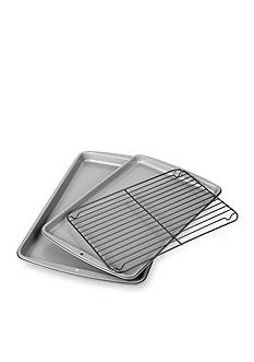 Wilton Bakeware Wilton 2-Piece Cookie Sheet Set with Grid