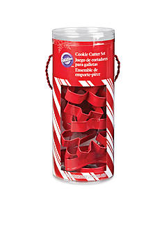 Wilton Bakeware 10-Piece Holiday Cutter Tube