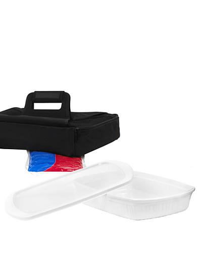 Corningware 3-qt. Oblong Baking Dish With Carrier - On Line Only