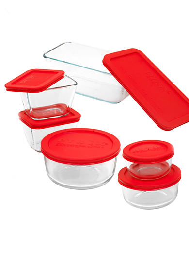 Pyrex 12-Piece Glass Storage Set with Lids