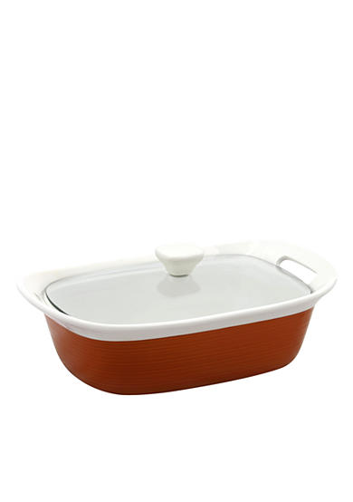 Corningware Etch 2.5-qt. Oval Casserole in Brick - Online Only