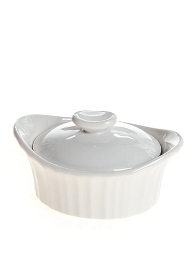 Corningware French White III Mini Dessert Baker with Ceramic Lid - Online Only
