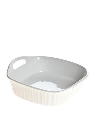 Corningware French White III Square Baker with Handles - Online Only