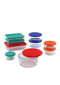 Pyrex 18-Piece Color Lid Storage Set