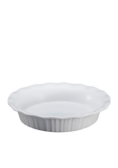 Corningware French White 9-in. Pie Plate