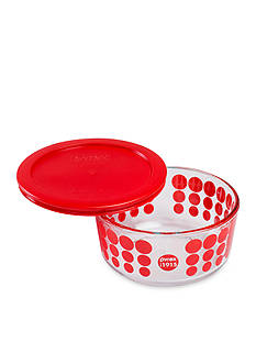 Pyrex 100 Year Red 4-cup with Cover
