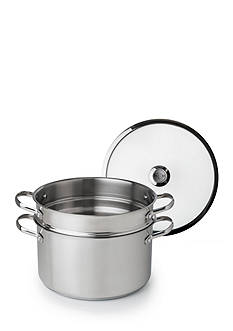 Revere 6.5-qt. Stainless Steel Stock Pot with Pasta Insert and Lid