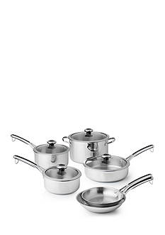 Revere 10-Piece Stainless Steel Cookware Set