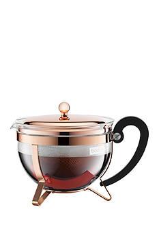 Bodum Chambord Classic 51-oz. Copper Teapot