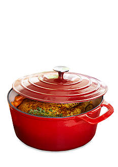 Cooks Tools™ Enamel Cast Iron 7-qt. Dutch Oven