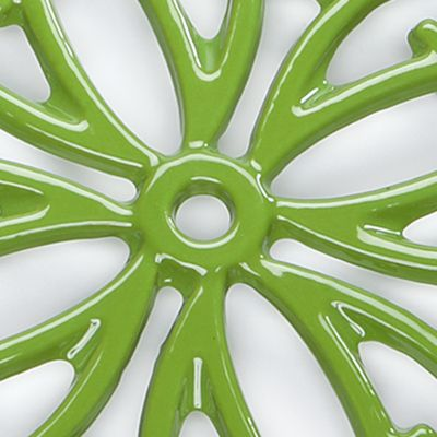 Cooks Tools™ Bed & Bath Sale: Green Cooks Tools™ Round Iron Trivet