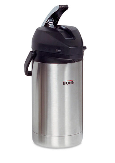 Bunn 3.8 Liter Lever-Action Commercial Airpot, Stainless Steel 36725