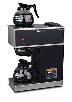 Bunn Commercial Coffee Brewer with Upper and Lower Warmers VPR