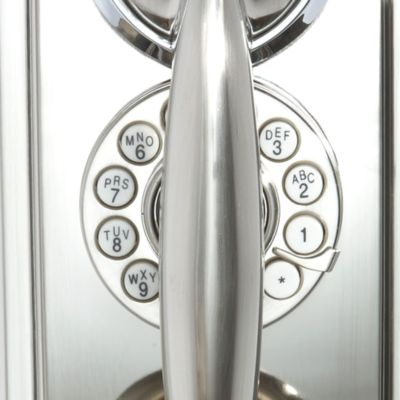 Discount Home Electronics: Silver Crosley 302 Wall Phone - Online Only