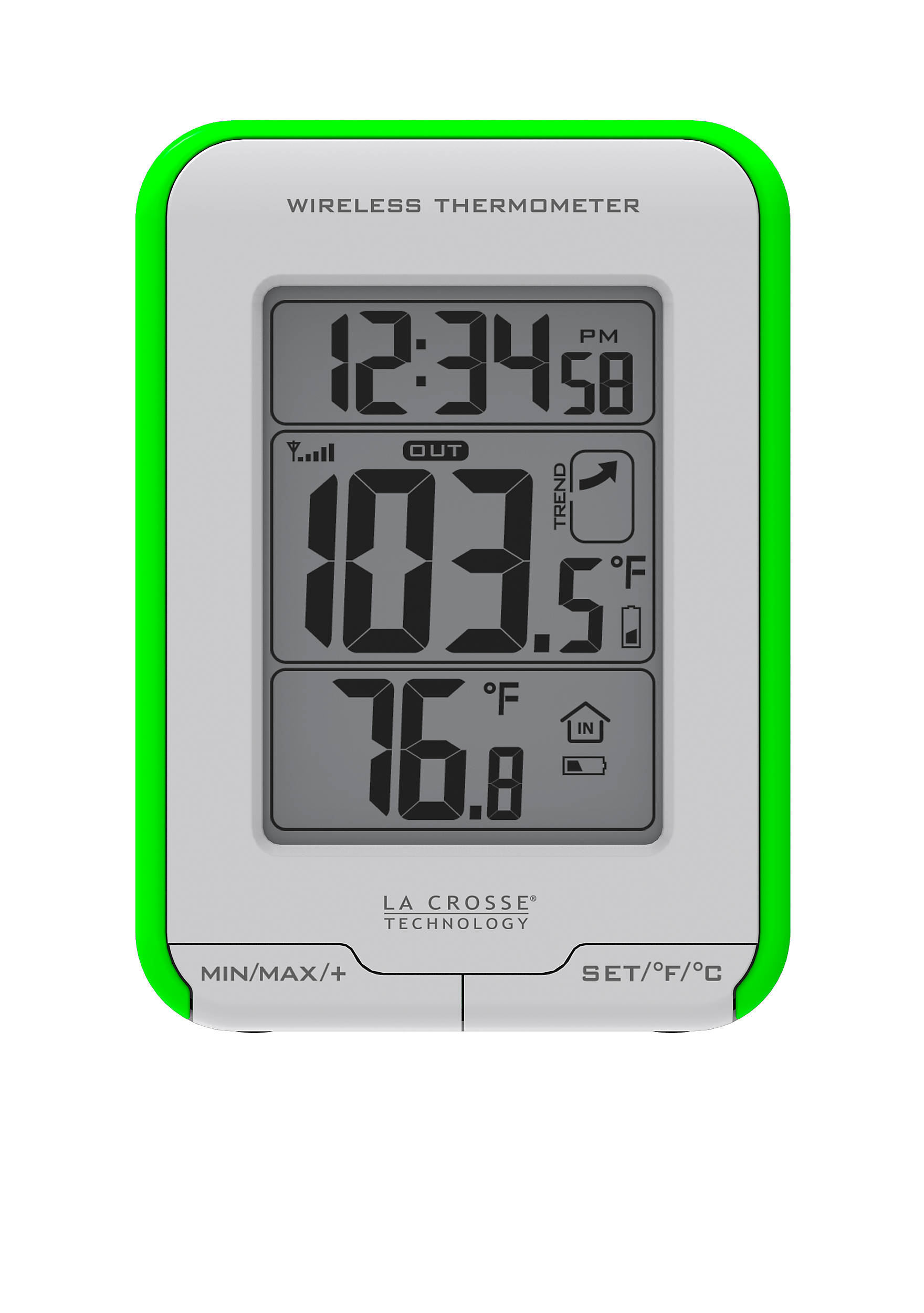 Lacrosse technology weather station with wireless thermometer and images amipublicfo Images
