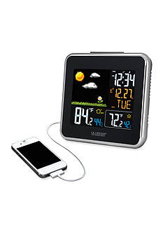 LaCrosse Technology Wireless Weather Station with USB Charging Port - Online Only