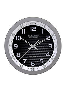 LaCrosse Technology 10-in. WWVB Chapter Ring Wall Analog Clock