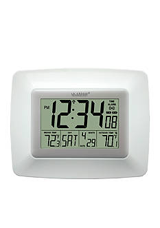 LaCrosse Technology Atomic Digital Clock with Temperature WS8119UIT